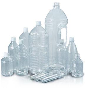 多種多様なペットボトルへ